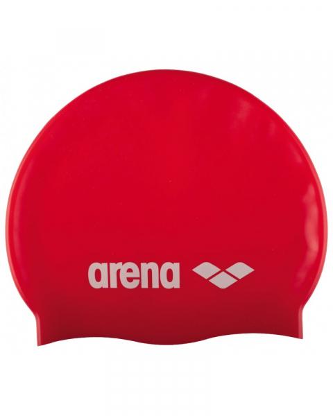 Casca inot Arena CLASSIC Silicone Red / White 0