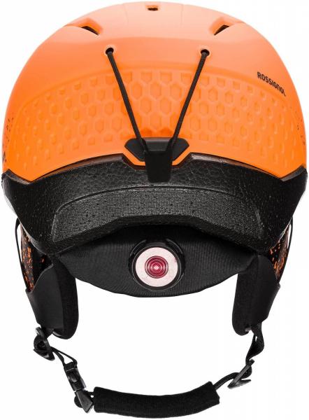 Casca schi copii Rossignol WHOOPEE IMPACTS LED Orange 1