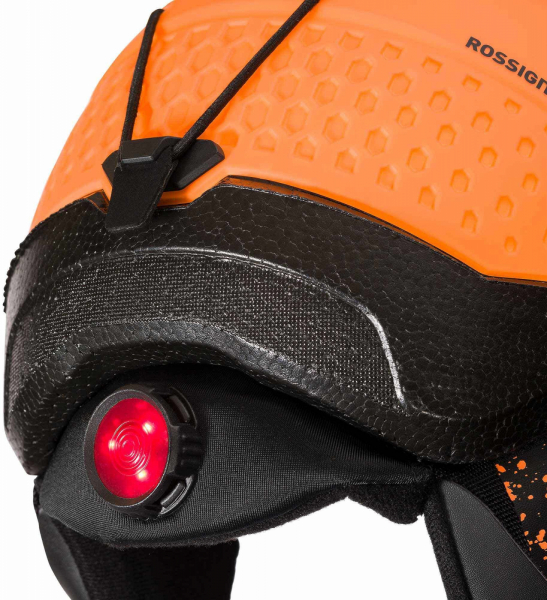 Casca schi copii Rossignol WHOOPEE IMPACTS LED Orange 3