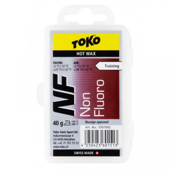 Ceara TOKO NF HOT WAX Red 40 g 0