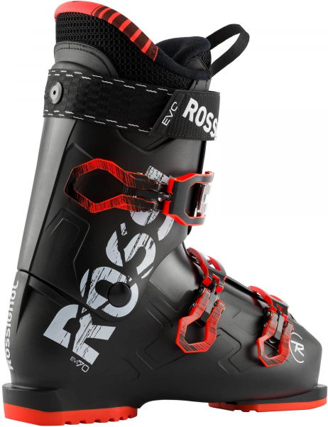 Clapari barbati Rossignol EVO 70 Black red 1