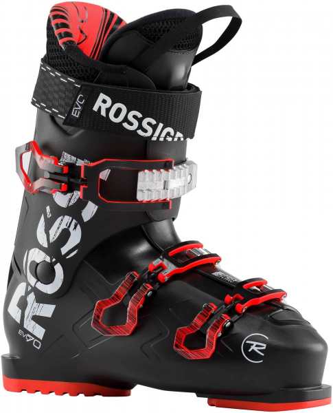 Clapari barbati Rossignol EVO 70 Black red 0