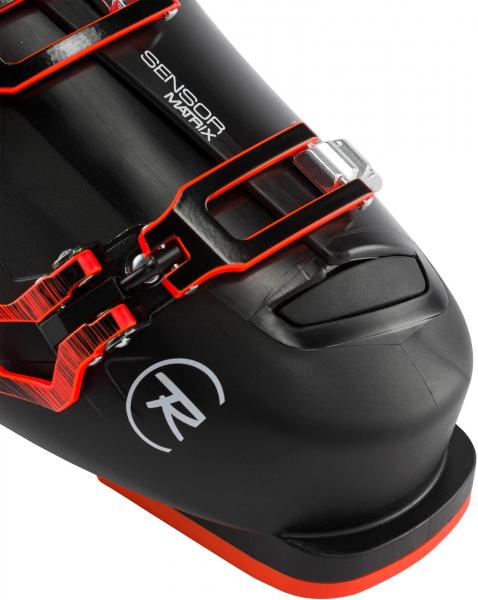 Clapari barbati Rossignol TRACK 80 Black red 6