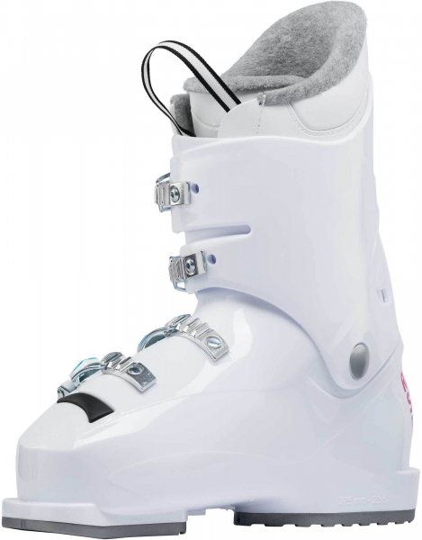 Clapari copii Rossignol FUN GIRL J4 White 2