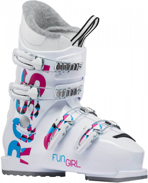 Clapari copii Rossignol FUN GIRL J4 White 0