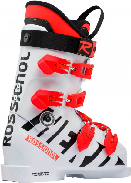 Clapari copii Rossignol HERO WORLD CUP 70 SC White 0