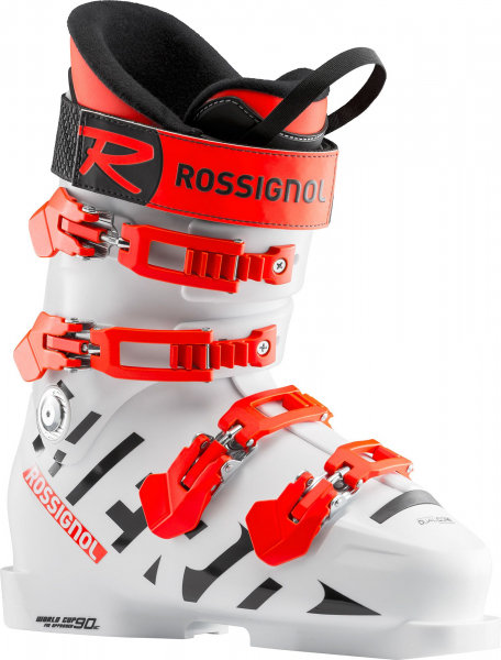 Clapari copii Rossignol HERO WORLD CUP 90 SC White 0