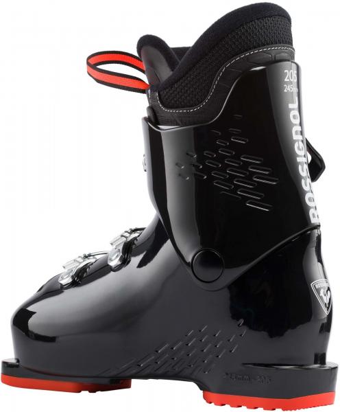 Clapari copii Rossignol COMP J3 Black red 1