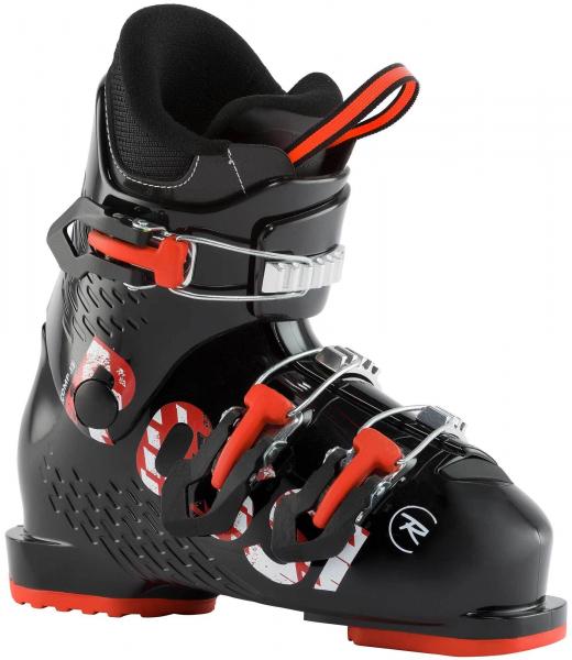 Clapari copii Rossignol COMP J3 Black red 0
