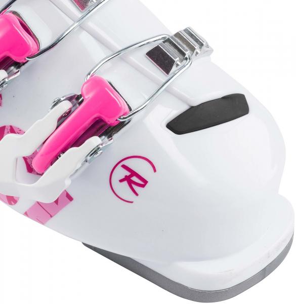 Clapari copii Rossignol FUN GIRL J3 White pink 4