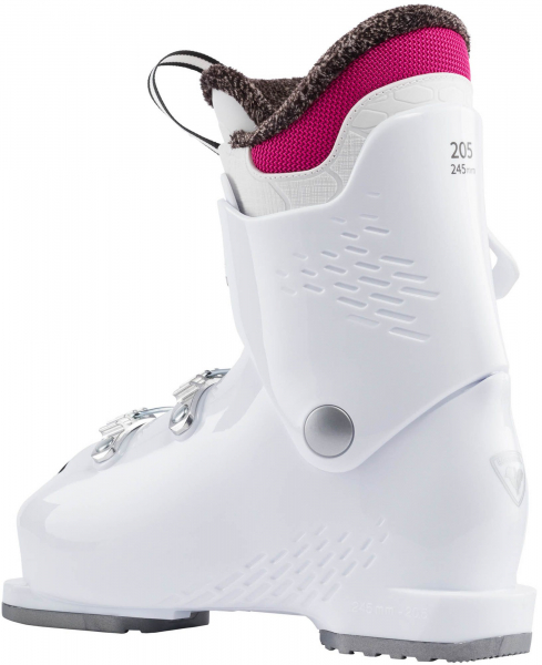 Clapari copii Rossignol FUN GIRL J3 White pink 1