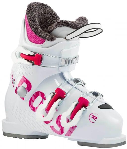Clapari copii Rossignol FUN GIRL J3 White pink 0