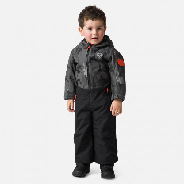 Combinezon copii Rossignol KID FLOCON Camo grey 0