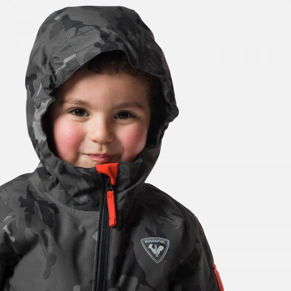 Combinezon copii Rossignol KID FLOCON Camo grey 4