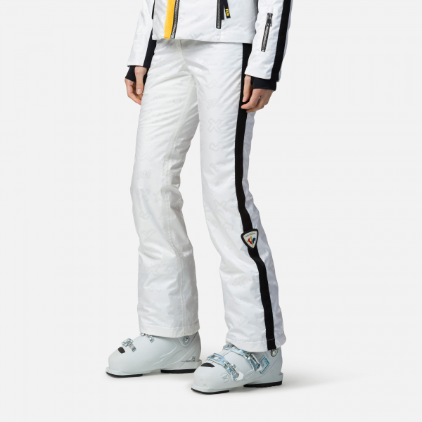 Pantaloni schi dama Rossignol JCC W RAINBOW White 0