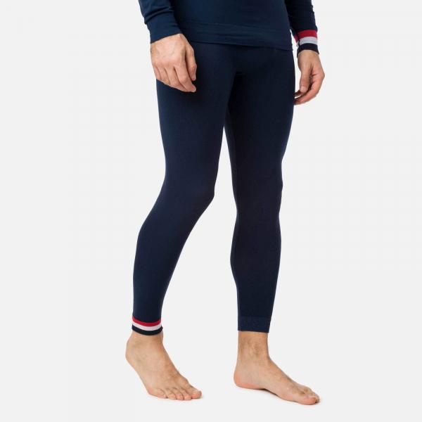 Pantaloni first layer barbati Rossignol DROITE UNDERWEAR TIGHT Dark navy 1