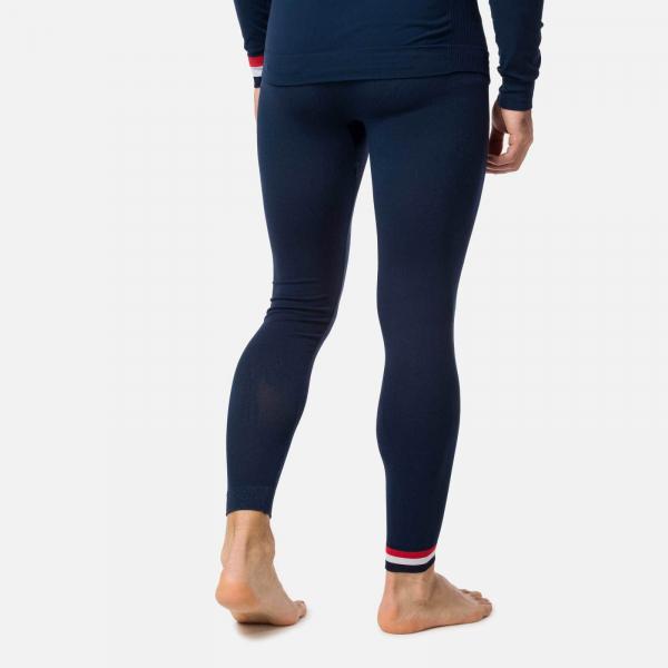 Pantaloni first layer barbati Rossignol DROITE UNDERWEAR TIGHT Dark navy 2