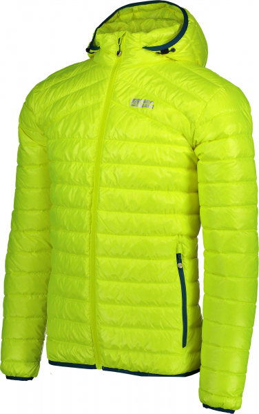 Jacheta barbati Nordblanc HEARTH ULTRA light down Safety yellow 1