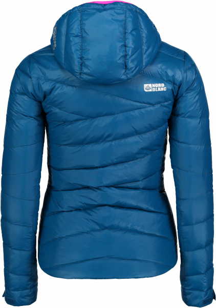 Geaca dama Nordblanc GRITTY ULTRA Light down Baku blue 2