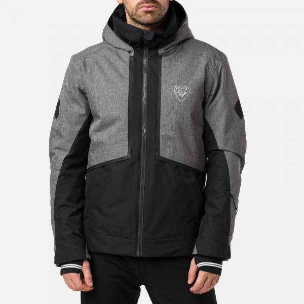 Geaca schi barbati Rossignol MASSE HEATHER GREY 0
