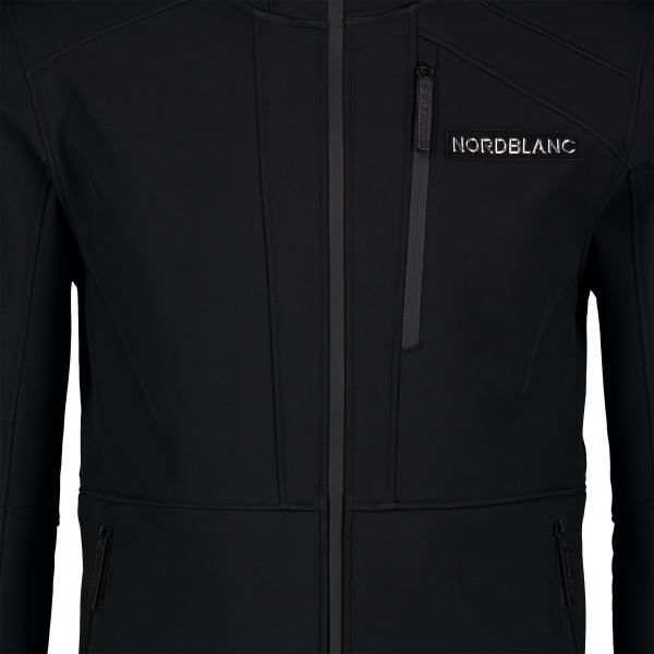 Jacheta softshell barbati Nordblanc STRUGGLE Black [4]