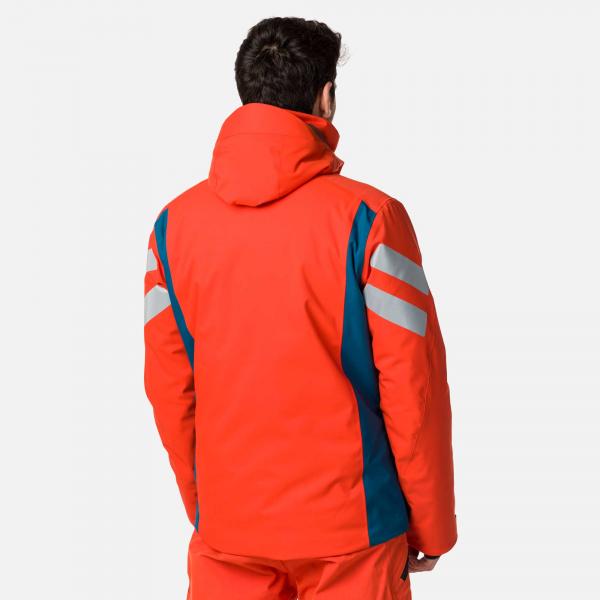 Geaca schi barbati Rossignol PRO lava orange 1