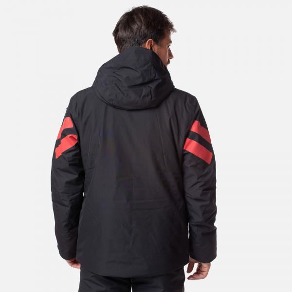 Geaca schi barbati Rossignol FONCTION black red 1