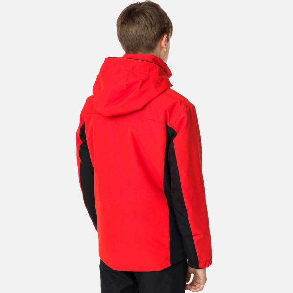 Geaca schi copii Rossignol BOY SKI Crimson 2