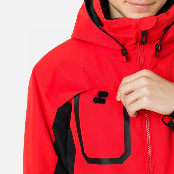 Geaca schi copii Rossignol BOY SKI Crimson 5