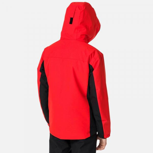 Geaca schi copii Rossignol BOY SKI Crimson 4