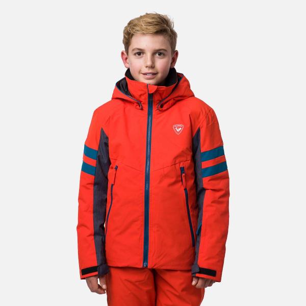 Geaca schi copii Rossignol BOY SKI Lava orange 0