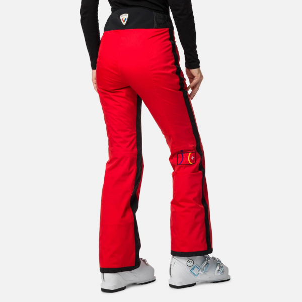Pantaloni schi dama Rossignol JCC W JUDY Red 1