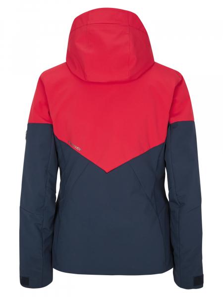 Geaca schi dama Ziener TANSY Dark navy red 1