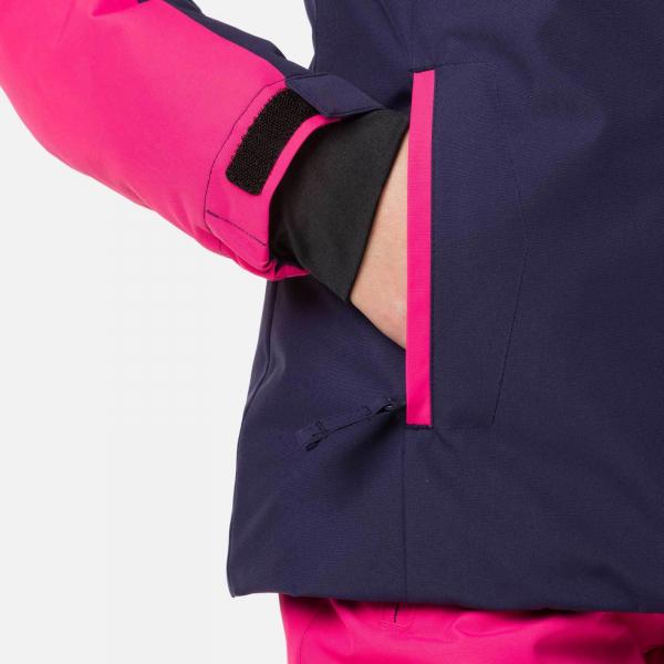 Geaca schi fete Rossignol GIRL SKI Pink fushia 5