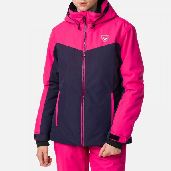 Geaca schi fete Rossignol GIRL SKI Pink fushia 0
