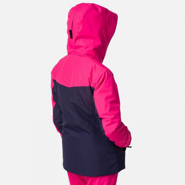 Geaca schi fete Rossignol GIRL SKI Pink fushia 1