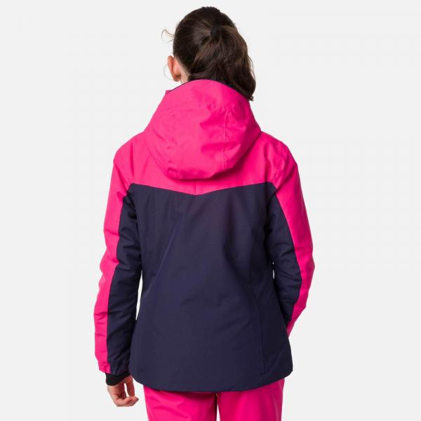Geaca schi fete Rossignol GIRL SKI Pink fushia 2