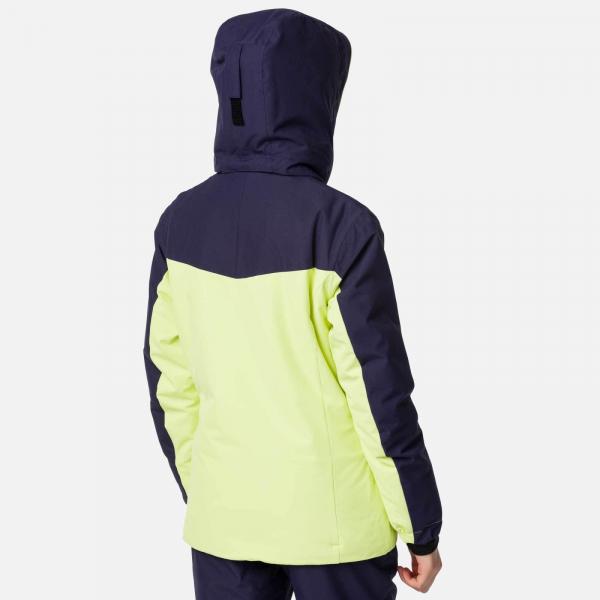Geaca schi fete Rossignol GIRL SKI Sunny lime 6