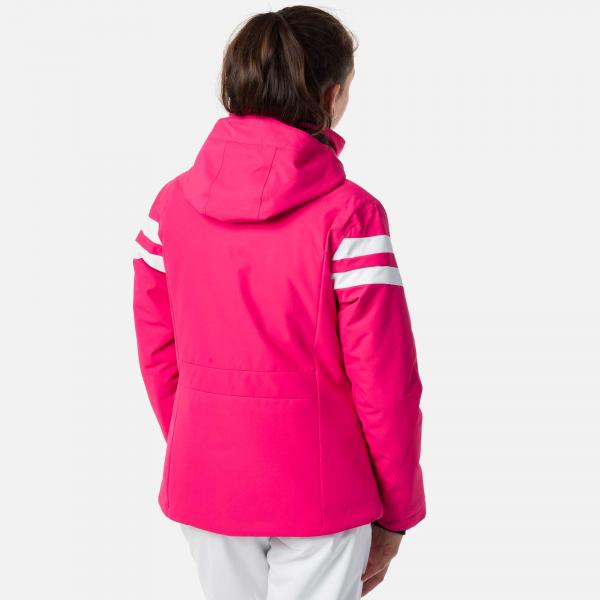 Geaca schi fete Rossignol GIRL SKI Pink fucsia 1