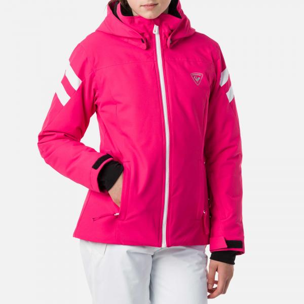 Geaca schi fete Rossignol GIRL SKI Pink fucsia 0