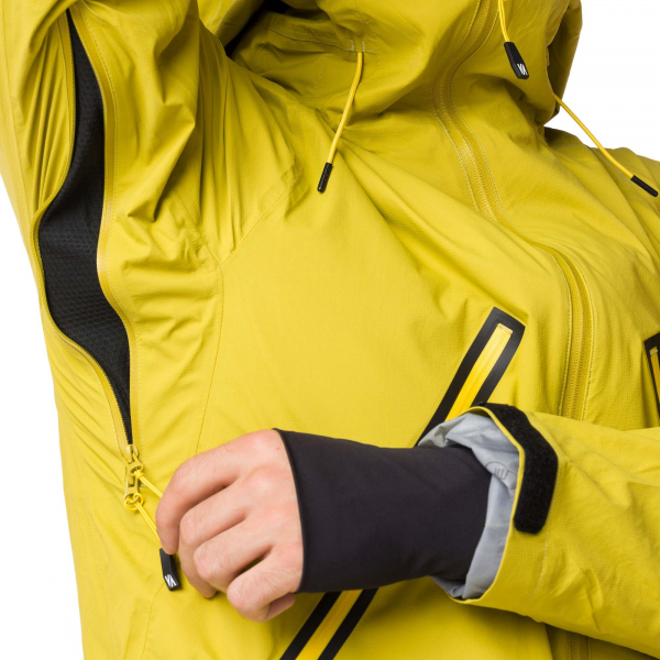 Geaca ski snowboard barbati Vertical WINDY MP+ Mustard 4
