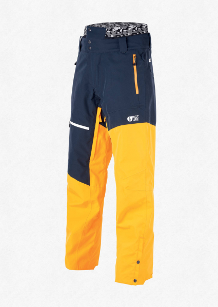 Pantaloni snowboard PICTURE ALPIN Dark blue yellow 0