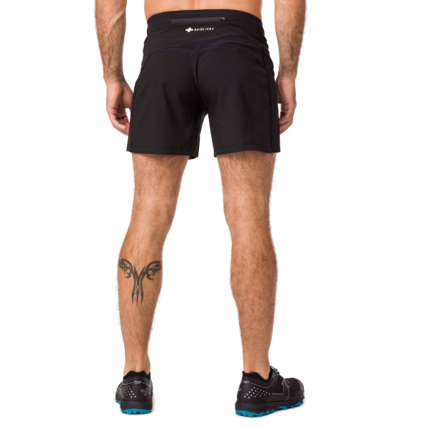 Short alergare barbati Raidlight ACTIV RUN Black 1