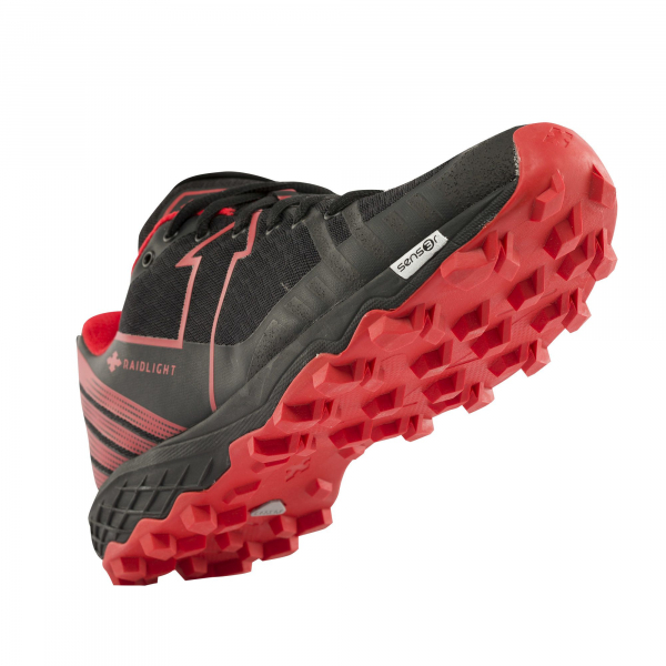 Pantofi sport Raidlight RESPONSIV DYNAMIC Red Black 3