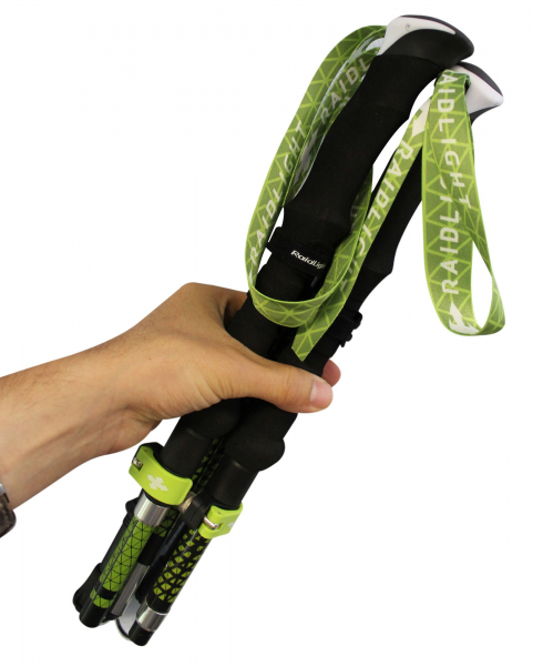 Bete telescopice Raidlight AVATARA HYBRID Black lime green 3