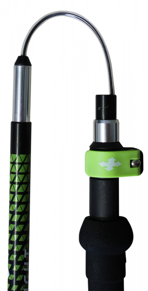 Bete telescopice Raidlight AVATARA HYBRID Black lime green 7