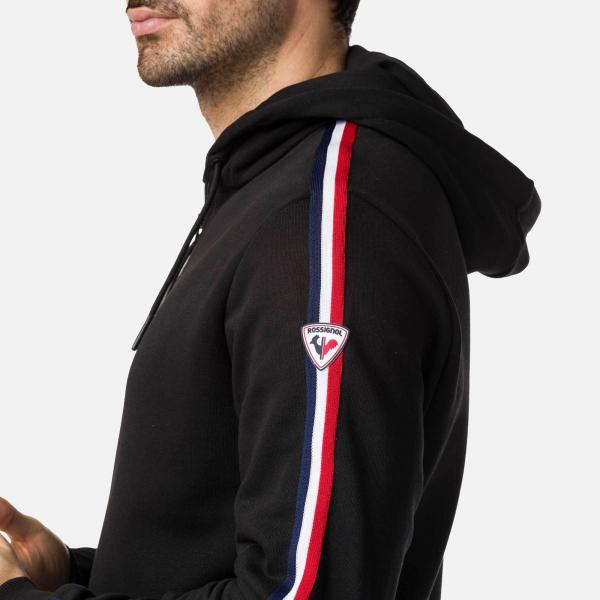 Hanorac barbati Rossignol FLAG SWEAT Black 4