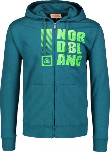 Hanorac barbati Nordblanc FURROW Emerald green 0