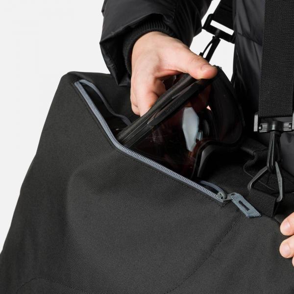 Husa clapari Rossignol DUAL BASIC BOOT BAG Black 2