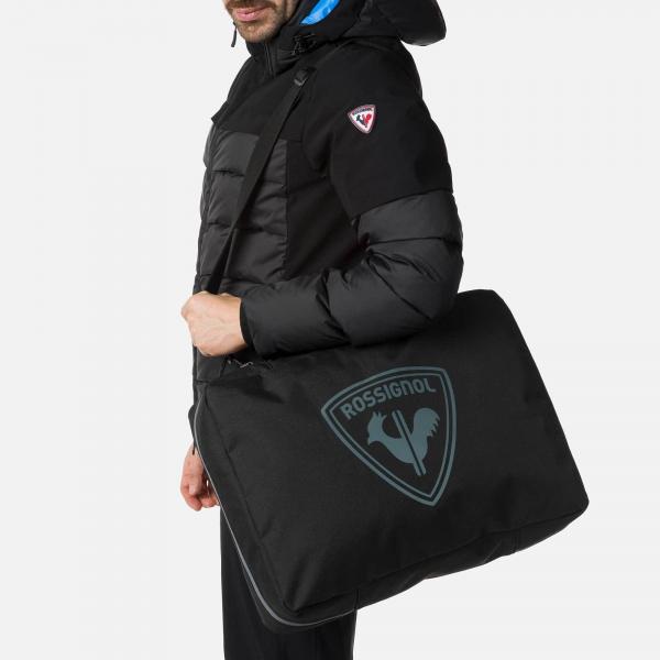 Husa clapari Rossignol DUAL BASIC BOOT BAG Black 3